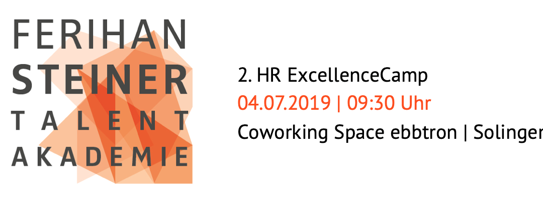 Einladung «2. HR ExcellenceCamp» am 04.07.2019 in Solingen