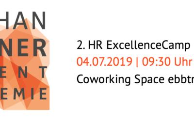 Einladung «2. HR ExcellenceCamp» am 04.07.2019 in Solingen