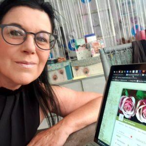 Anita Ranzan im Atelier